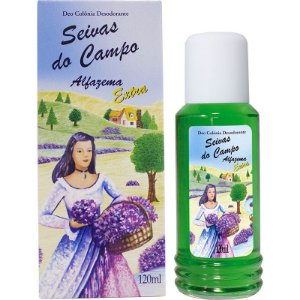 Deo Colônia - Seivas do Campo 120ml - Alfazema