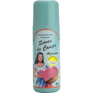 Desodorante Spray - Seivas do Campo 90ml - Alfazema Tradicional