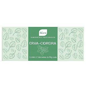 Sabonetes Erva-Cidreira Bloom - Estojo com 3 unidades 90g cada