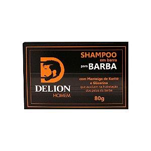 Shampoo em barra 80g - Delion Homem