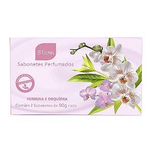 Sabonetes Verbena e Orquídea 90g cada - Estojo com 2 unidades - Bloom