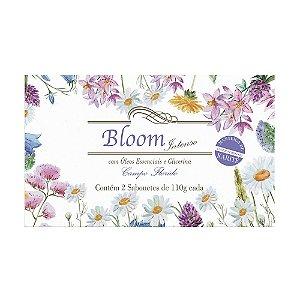 Sabonetes Bloom Intenso Campo Florido - Estojo com 2 unidades 110g cada