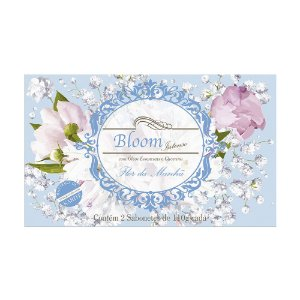 Sabonetes Bloom Intenso Flor da Manhã - Estojo com 2 unidades 110g cada