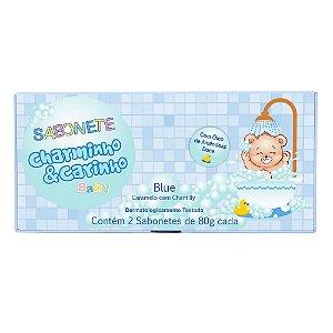 Sabonete Blue Caramelo com Chantilly Charminho & Carinho Baby - Estojo com 2 unidades