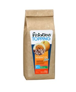Frootiva Maracujá Zero Açúcar Embalagem de 500 gramas