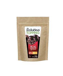 Frootiva Açaí & Chocolate Embalagem de 200 gramas