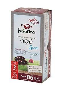 Frootiva Açaí Zero Açúcar com 3 unidades