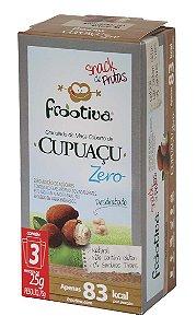 Frootiva Cupuaçu Zero Açúcar com 3 unidades