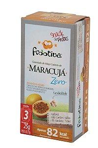 Frootiva Maracujá Zero Açúcar com 3 unidades