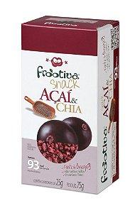 Frootiva Açaí & Chia com 3 unidades