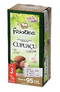 Frootiva Cupuaçu com 3 unidades