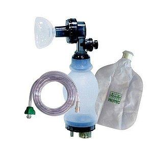 Ambú Reanimador Manual Neonatal Silicone Completo - Protec