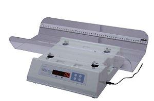 Balança Digital Infantil com Concha Acrilico S/ Capa 15 KG X 5 Gramas Led 109 EA - Welmy