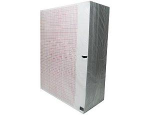 Papel Para ECG Dixtal EP-3 Com sensor 1000 Folhas