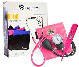 Kit Acadêmico KA100 Pink Incoterm