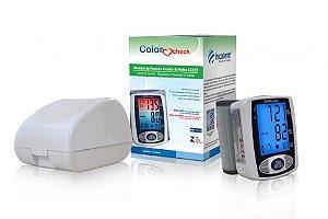 Medidor de Pressão Arterial e Pulsação Pulso Color Check Incoterm