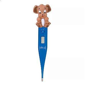 Termômetro Clínico Digital Termomed Cachorrinho Azul - Incoterm