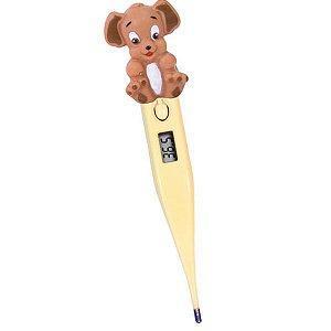 Termômetro Clínico Digital Termomed Cachorrinho Amarelo - Incoterm