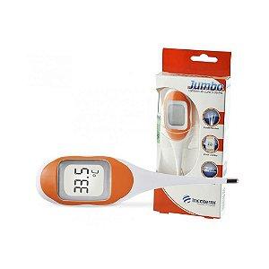 Termômetro Clínico Digital Laranja Jumbo - Incoterm