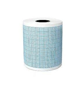 Papel para Eletrocardiógrafo ECG 50mm x 15m - Tecnoprint