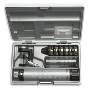 Conjunto de Otoscópio Cirúrgico B-188 - Heine Original