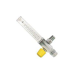Fluxômetro 0-15 LPM Macho AR Comprimido - Protec