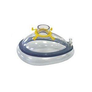Máscara Facial Coxim Inflável de PVC Juvenil - Protec