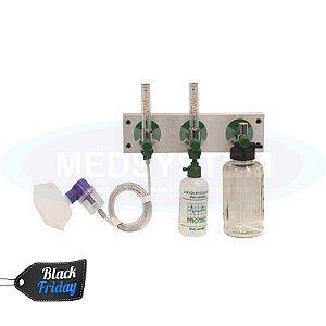 Kit P/ Ambulância C/ Painel de Alumínio 3P - Protec