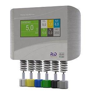 Painel de Alarme P/ Gases (04 gases) - R&D Mediq