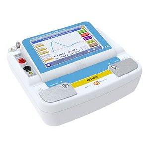 Analisador de Desfibrilador, Cardioversor e de Marca Passo Transcutâneo AD100 A SERIES - R&D Mediq