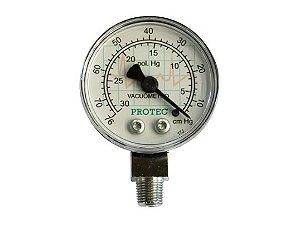 Vacuômetro 0 a 76 cm/hg TRT- Protec