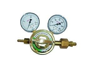 Válvula Para Cilindro C/ 2 manômetros Oxigênio - Protec