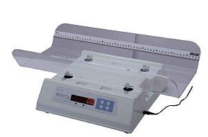 Balança Digital Infantil com Concha Acrilico S/ Capa 30 KG X 10 Gramas Led 109 EA Baby 30 - Welmy
