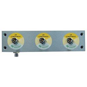 Painel de Alumínio P/ Ar Comprimido 3 P. 30 CM  - Protec