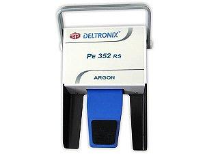 Pedal Simples Plugue Canon Macho Para Coagulador Argônio - Deltronix