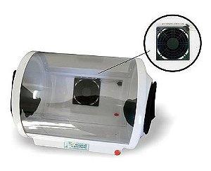 Câmara de desgaste c/ jateamento iluminação e exaustor - Biotron