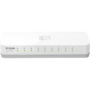 Switch 08 Portas D-Link DES-1008C 10/100Mbps