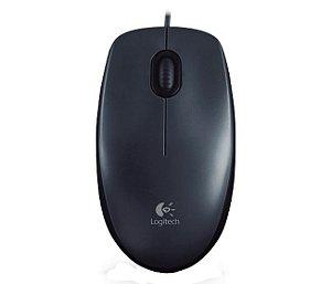 Mouse Logitech M90 USB 910-004053 - preto