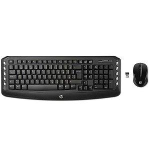 Kit Teclado e Mouse Sem Fio HP - LV290AA