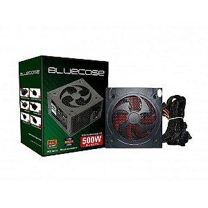 Fonte ATX 500W PFC Ativo Bluecase - BLU500PFC