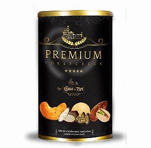 Mix Premium de Castanhas Salgadas 400g - Empório Casa do Rei