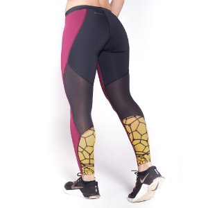 LEGGING CARBON GRENAT