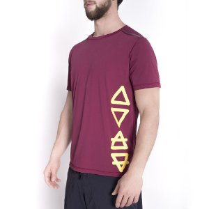 T-SHIRT 4ELEMENTS GRENAT