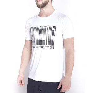 T-SHIRT BAR CODE WHITE