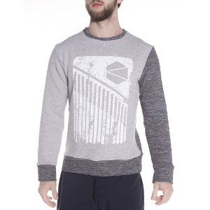 CREW NECK SWEATSHIRT GRAY