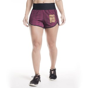 SHORTS HI CARBON-CHESS GRENAT