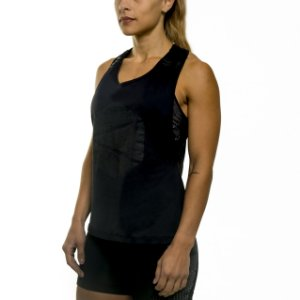 MUSCLE TANK LOGO - BLACK