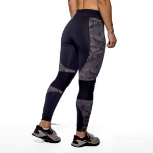 LEGGING HERO - BLACK SHIELD CAMO