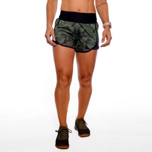 SHORTS HI - GREEN CAMO