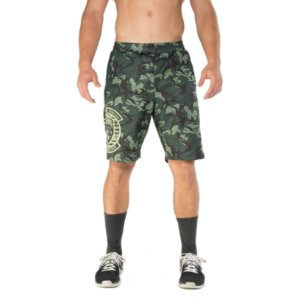 BRO SHORTS - GREEN CAMO